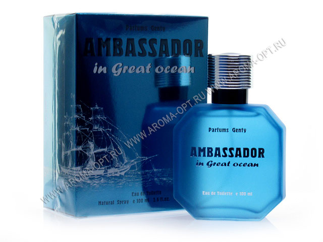 Ambasador in Great Ocean т/в муж 100мл