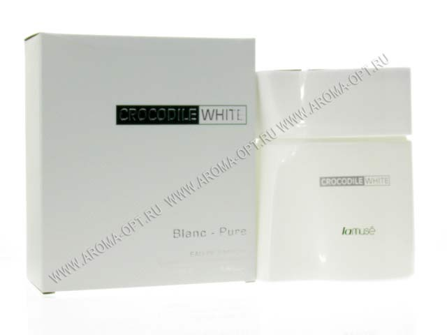 LaMUSE П.В.CROCODILE WHITE 100мл.муж.