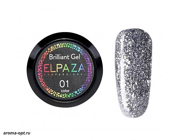 Brilliant Gel № 01 Elpaza