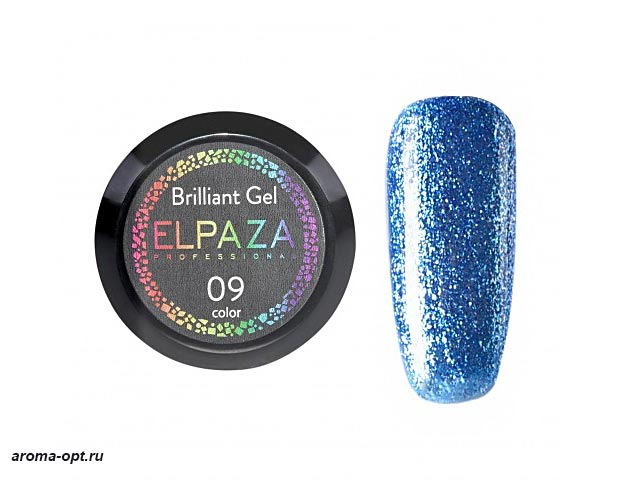 Brilliant Gel № 09 Elpaza