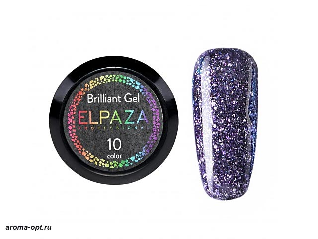 Brilliant Gel № 10 Elpaza