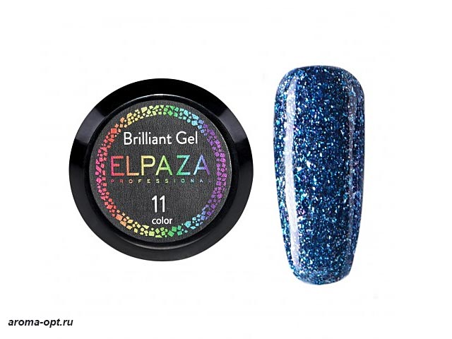 Brilliant Gel № 11 Elpaza