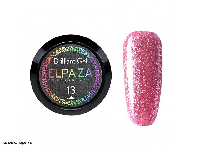 Brilliant Gel № 13 Elpaza