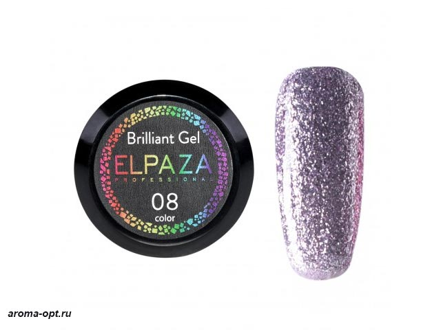 Brilliant Gel № 08 Elpaza