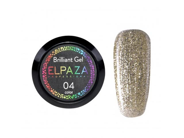 Brilliant Gel № 04 Elpaza