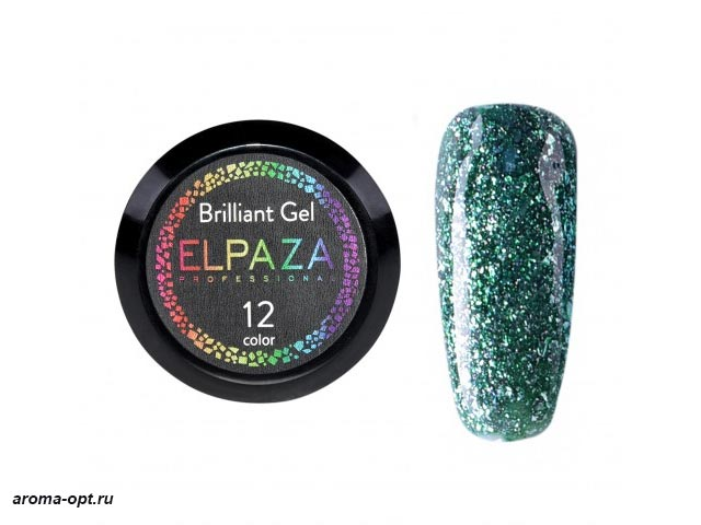 Brilliant Gel № 12 Elpaza