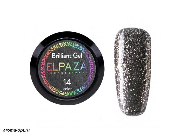 Brilliant Gel № 14 Elpaza