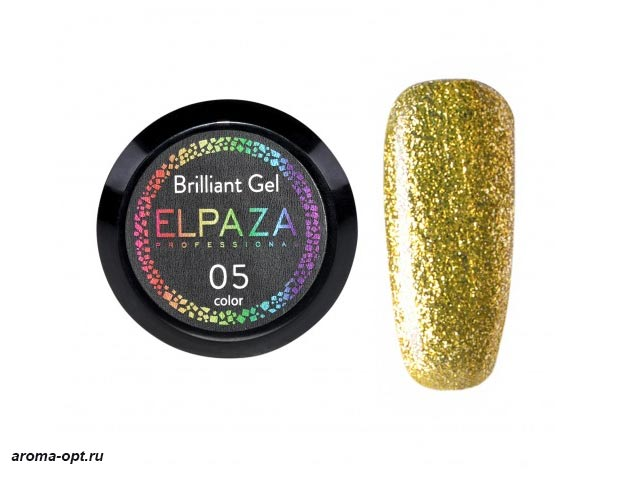 Brilliant Gel № 05 Elpaza
