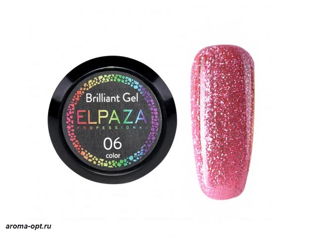 Brilliant Gel № 06 Elpaza